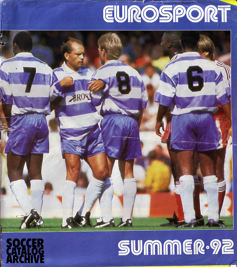 My first EUROSPORT | Soccer Catalog Archive