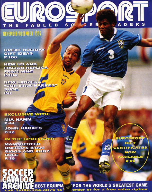... with Aldair from the November/December 1995 issue of EUROSPORT