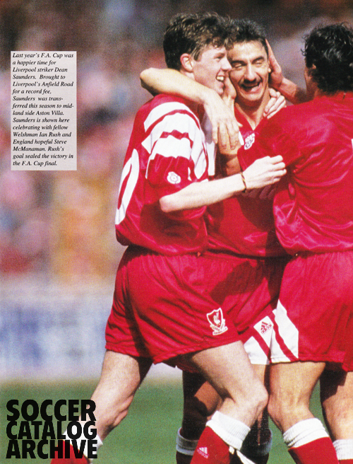 Ian Rush, Dean Saunders, Steve McManaman liked winning.