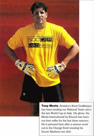 Tony Meola - Soccer Madness